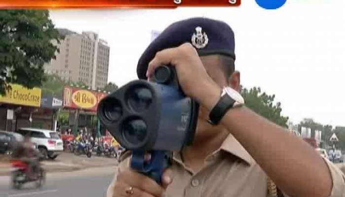 Ahmedabad Determining the speed of vehicles breaching will be legal action