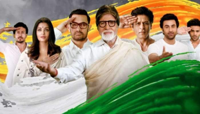 પુલવામા શહીદોને શ્રદ્ધાંજલિઃ  Big B, શાહરૂખ અને આમિરે 'તૂ દેશ મેરા' ગીતનું કર્યું શૂટિંગ