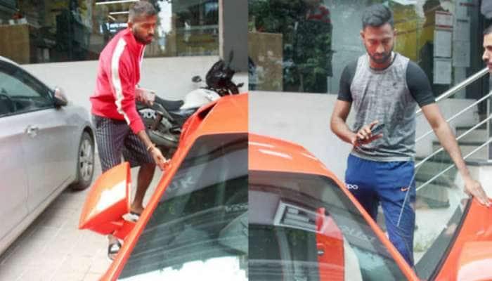 ક્રિકેટર હાર્દિક અને ક્રુણાલ પંડ્યાએ ખરીદી નવી લૈમ્બોર્ગિની કાર, તમે પણ જુઓ- PHOTOS