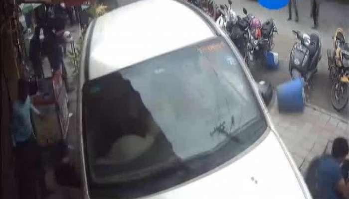 Car accident at Bangluru