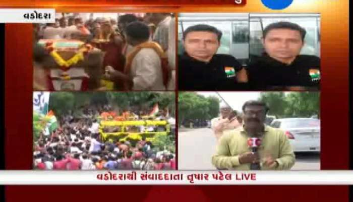 Vadodara's People Join in Funeral Of Martyr Sanjay Sadhu