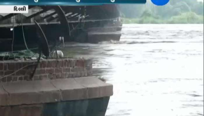 Flood Situation In Delhi As Water Level Of Yamuna River Increases