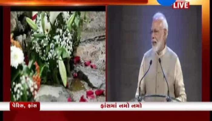 PM Modi Addresses Indian Community Living In France