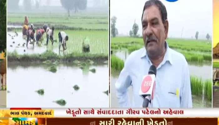 Ahmedabad: Farmers Hope For Successful Farming Of Ravi Crops, Gamdu Jage Che