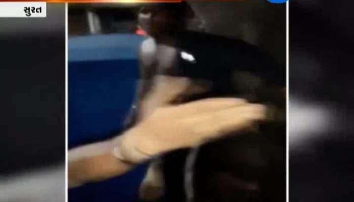 Thief Caught In Surat Video Viral