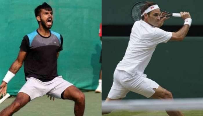 US Open: રોજર ફેડરરે જીતી મેચ, ભારતના સુમિત નાગલે જીત્યા દિલ