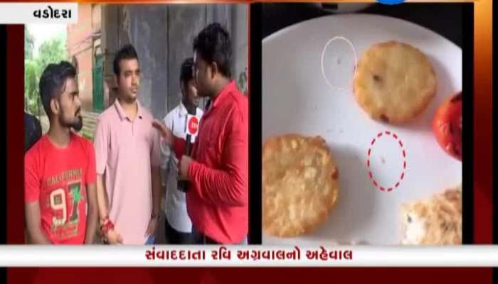 Vadodra:  Insects Found In Food Of 5 Star Hotel, See What People Say