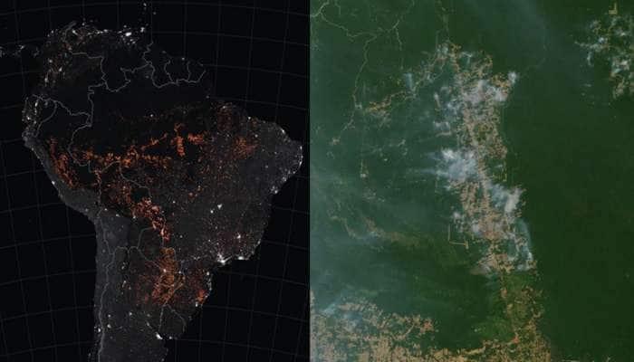 અમેઝનના વર્ષાવનોમાં આગઃ આખરે બ્રાઝીલે ફ્રાન્સની 20 મિલિયન ડોલરની મદદ સ્વીકારી
