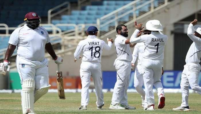Ind vs WI 2nd test: વેસ્ટ ઈન્ડિઝ 117 રન બનાવી ઓલઆઉટ, ભારતે ફોલોઓન ટાળ્યું