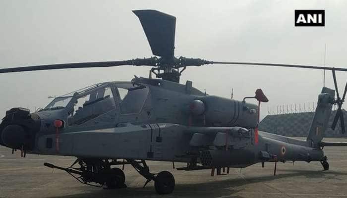 IAFને મળ્યા 8 'બાહુબલી' અપાચે હેલિકોપ્ટર, PAK બોર્ડર પાસે પઠાનકોટ એરબેઝ પર તૈનાત