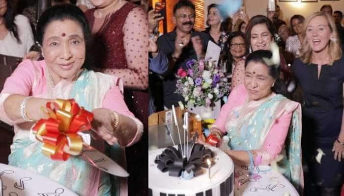 આશા ભોસલેએ દુબઇમાં ઉજવ્યો તેમનો 86મો જન્મદિવસ, જુઓ સેલિબ્રેશનની તસવીર