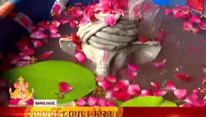 Zee 24 Kalak Family Bids Adieu To Eco-Friendly Ganesha