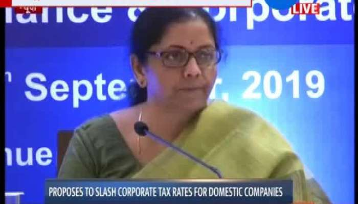 Live: Nirmala Sitharaman Press Conference