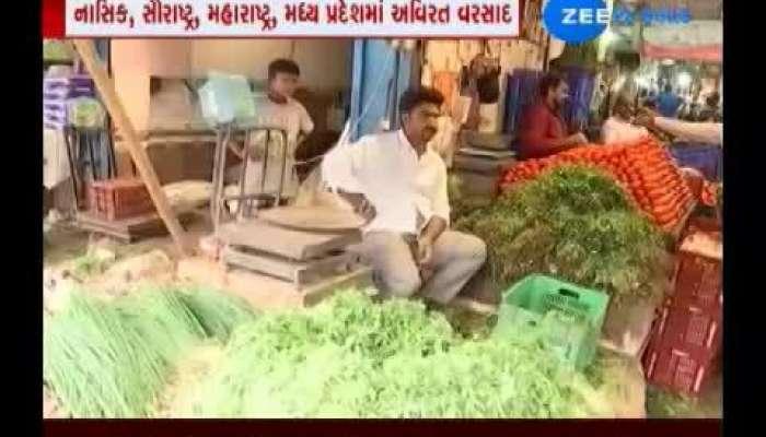 vegetables price hike in gujarat