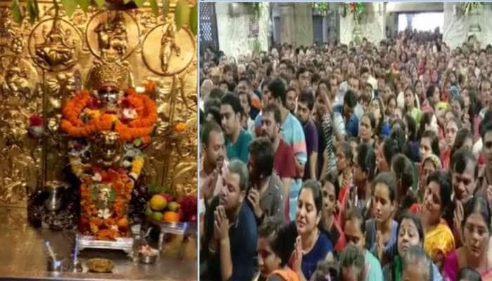 નવલી નવરાત્રિનો આજથી પ્રારંભ : ગુજરાતના મંદિરોમાં શુભ મુહૂર્તો પર ઘટ સ્થાપના કરાઈ