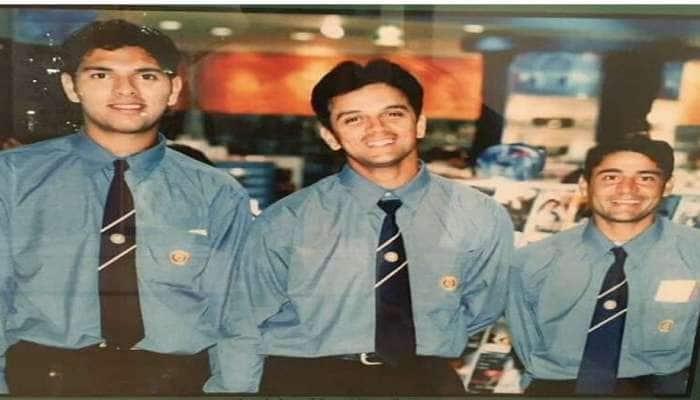 જ્યારે ટીમ ઈન્ડિયામાં સિલેક્ટ થયો ત્યારે કેવો લાગતો હતો યુવી, જુઓ ફોટો