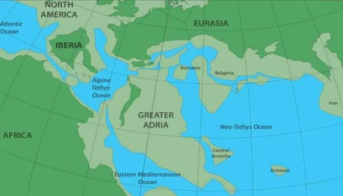 સમુદ્રમાં 14 કરોડ વર્ષ પહેલાં દટાયેલો ખંડ યુરોપના નીચે મળી આવ્યો, સંશોધકોએ કર્યા ખુલાસા