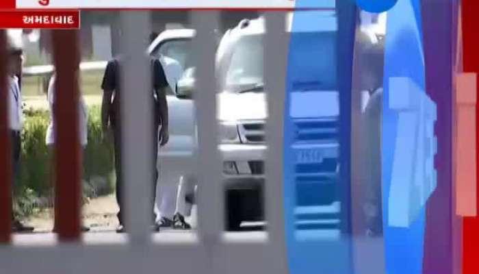 Rahul Gandhi Arrive At Ahmedabad Airport
