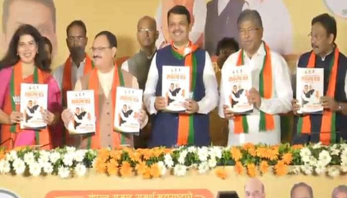મહારાષ્ટ્ર: BJPએ બહાર પાડ્યું સંકલ્પ પત્ર, જ્યોતિબા ફૂલે-સાવરકરને ભારત રત્ન આપવાની માંગ