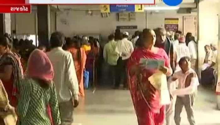 Health situation become worse at Rajkot