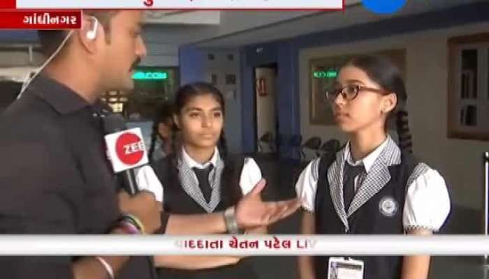 Students of Gujarat happy for government decision about