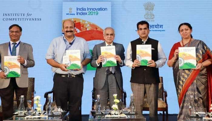 નીતિ આયોગના સૌ પ્રથમ 'ઈન્ડિયા ઈનોવેશન ઈન્ડેક્સ-2019'માં કર્ણાટક ટોચનું રાજ્ય