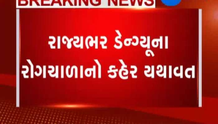 Many Doctors Sick Due To Dengue At Ahmedabad
