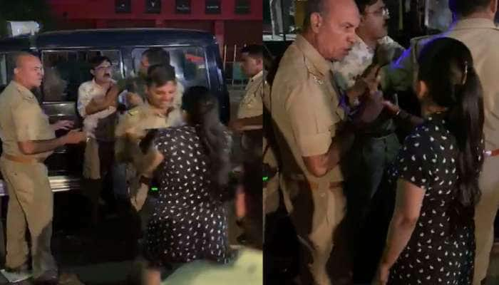 પોલીસકર્મીએ મહિલા પર ઉઠાવ્યો હાથ, પછી તો જે થયું...વિશ્વાસ નહીં કરો, ખાસ જુઓ VIDEO