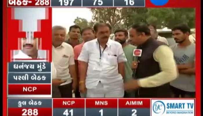 After voting Congress jasubhai patel Bayad
