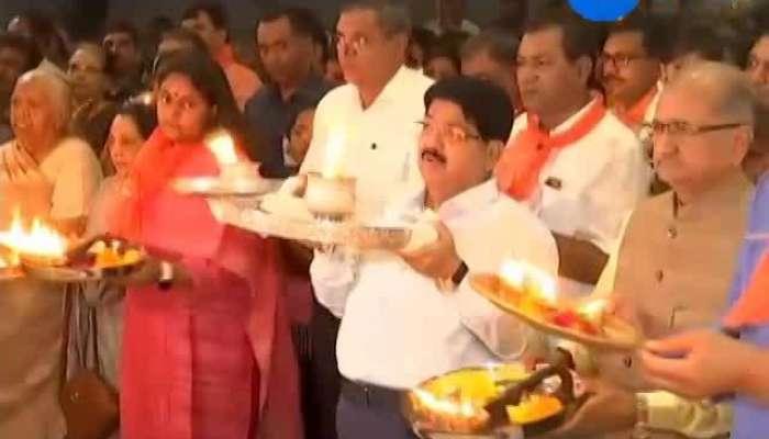 Maha aarti at jagganath tempal ahmedabad