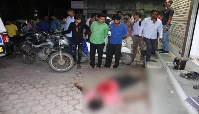 ભાવનગર: સત્યનારાયણ રોડ પર યુવકની તીક્ષ્ણ હથિયારના ઘા ઝીંકીને હત્યા