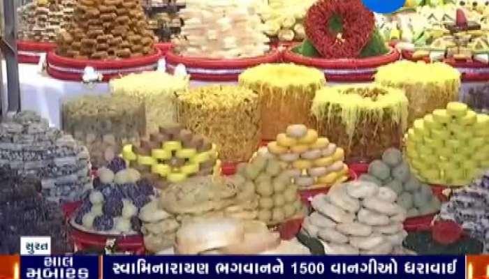 Annakut Darshan At Surat