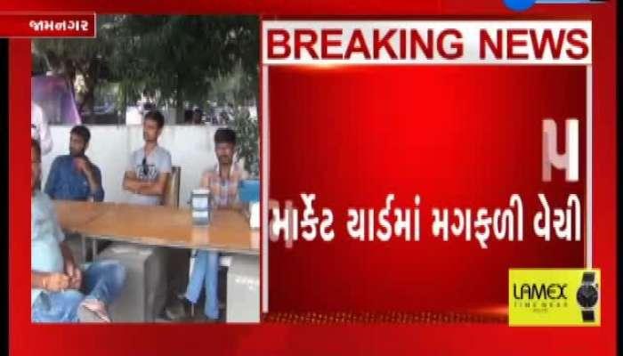 Groundnut purchase Jamnagar, farmers watch video