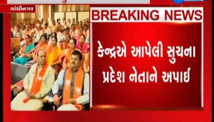 A suggestion should be given to BJP leaders of Gandhinagar