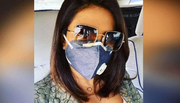 દિલ્હીમાં માસ્ક લગાવીને ફરતી જોવા મળી આ અભિનેત્રી, કહ્યું-'શૂટિંગ કરવું ખુબ મુશ્કેલ'