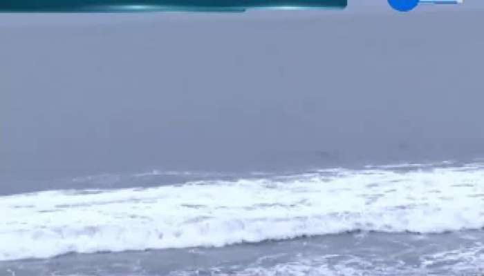 Currents Seen In Sea Of Veraval Due To Effect Of Maha Cyclone