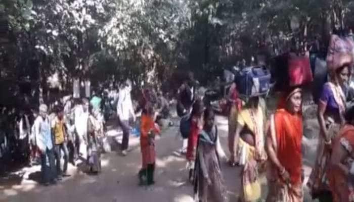 જુનાગઢ: મહા વાવાઝોડાનો ખતરો ટળતા લીલી પરિક્રમાનો એક દિવસ વહેલી શરૂઆત