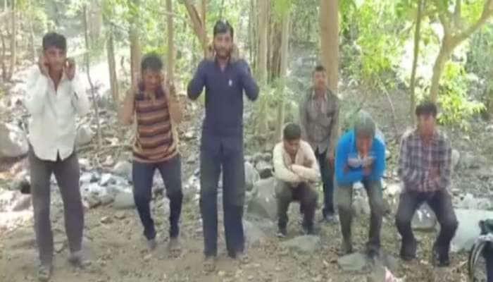 ગિરનારના ઉતાવળિયા પરિક્રમાર્થીઓને ગીર જંગલમાં ઘૂસવુ ભારે પડ્યું, વન વિભાગે કરાવી ઉઠક-બેઠક
