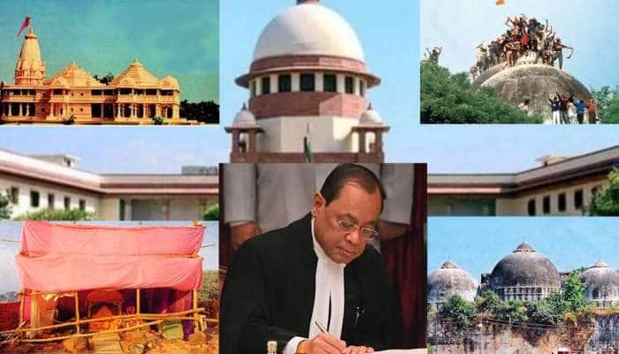 Ayodhya Verdict : 929 પાનાનાં ચુકાદામાં 5માંથી એક જજે ઉમેર્યા હતા 116 પાનાં, જાણો શું છે ખાસ..