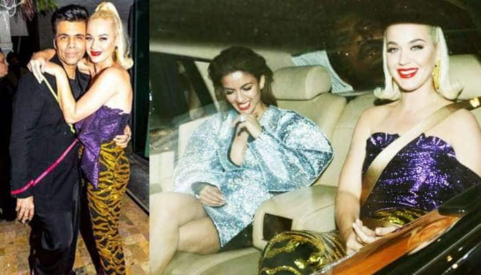Katy Perry PICS: કેટી પેરીએ શાનદાર સ્વાગત માટે કરણ જોહરનો આ રીતે માન્યો આભાર