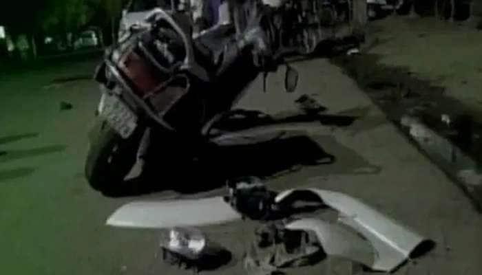 અમદાવાદ હિટ એન્ડ રનની ઘટના: ગાડી કોંગ્રેસી MLAનું હોવાનું સામે આવ્યું
