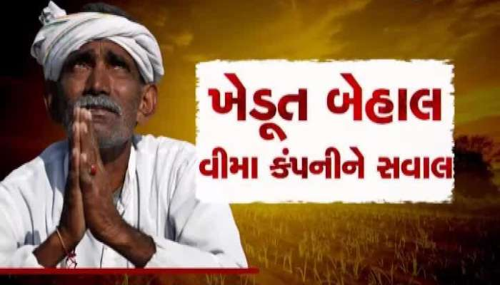 0712 Farmers in Narmada are helpless because of insurance company