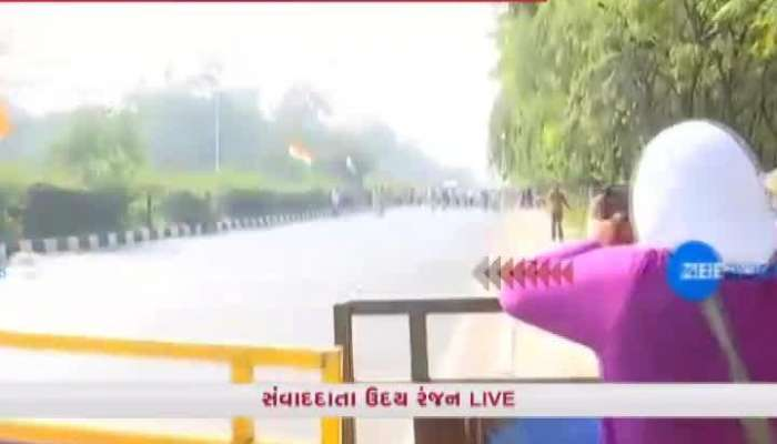 Friction Between Congress And Police In Gandhinagar
