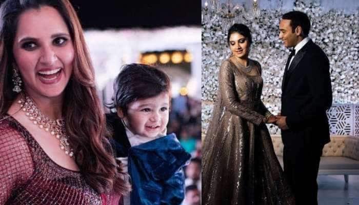 Photos: સાળીના લગ્નમા ક્યાંય ન દેખાયો ક્રિકેટર શોએબ મલિક, સાનિયા દીકરાને લઈને એકલી ફરતી રહી