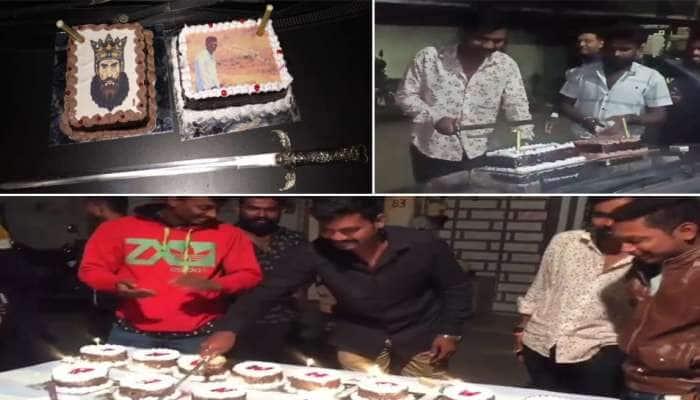 સુરતઃ જાહેરમાં કેક કાપવાનો વધુ એક વિડીયો સોશિયલ મીડિયામાં વાયરલ થતાં ચકચાર