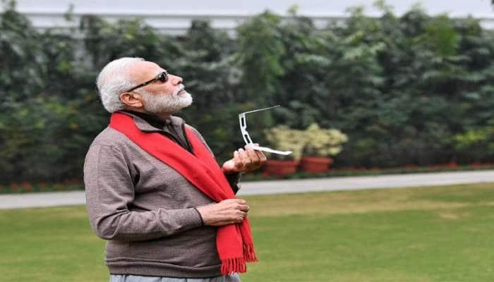 PM મોદીએ પણ જોયો સૂર્યગ્રહણનો નજારો, પરંતુ રહી ગઈ આ કસર