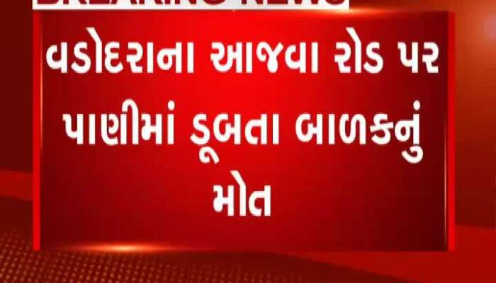 Child dies due to drowning at Vadodara