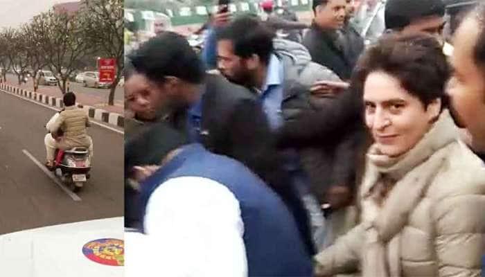 પ્રિયંકા ગાંધીને હેલ્મેટ વગર સ્કૂટીની સવારી કરાવવી પડી મોંઘી, પોલીસે કોંગ્રેસ નેતાને ફટકાર્યો 6300 રૂપિયાનો મેમો