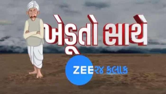Zee 24 Kalak Talk With Farmers On Crop Damage In Junagadh