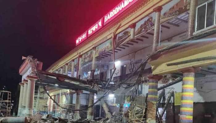 પશ્ચિમ બંગાળના બર્ધમાન રેલવે સ્ટેશન પર દુર્ઘટના, ઇમારતનો ભાગ પડવાથી 5 લોકોને ઈજા